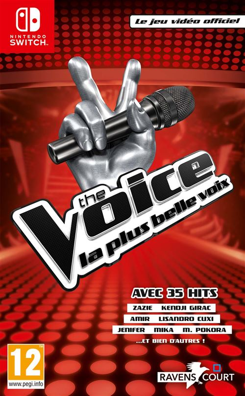 The Voice La plus belle voix Le jeu vidéo officiel 2019 Nintendo Switch