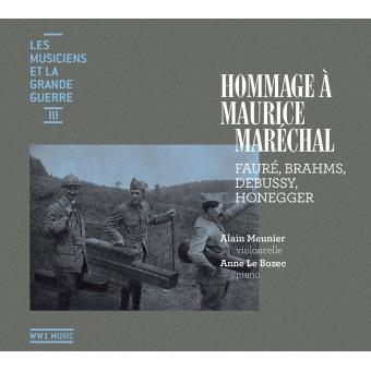 Hommage à Maurice Maréchal