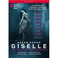 Giselle Chorégraphie Akram Khan DVD