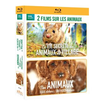 Coffret Nos animaux 2 Films Blu-ray