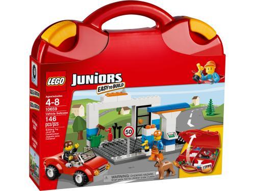 eb51b540b67dc LEGO® Juniors 10659 Valise de construction garçon - Lego - Achat & prix    fnac