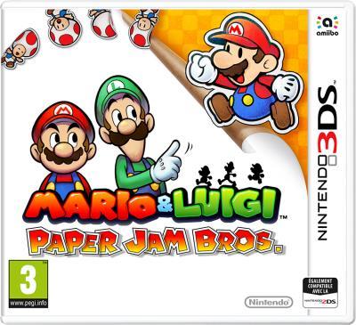 Mario et Luigi Paper Jam Bros 3DS