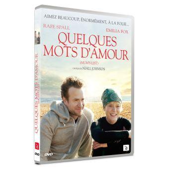 Quelques mots d'amour DVD