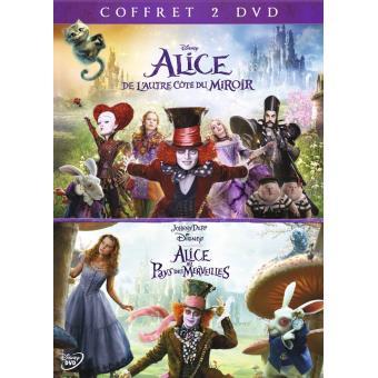 Alice au Pays des Merveilles, Alice de l'autre côté du miroir Blu-ray