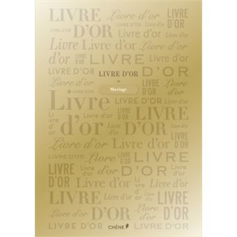 Livre D Or Dore Grand
