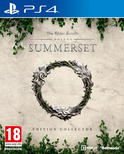 The Elder Scrolls Online Summerset Edition Collector PS4