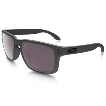 8816b154ce84d0 Lunettes de soleil Oakley Holbrook PRIZM Daily Polarized Steel Collection  Grise