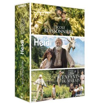 Coffret L'Ecole buissonnière Heidi Les enfants du marais DVD