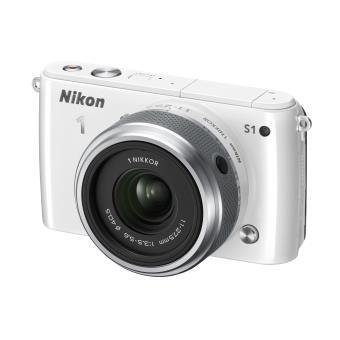 Nikon 1 S1 Blanc + Objectif 1 Nikkor 11-27,5 mm