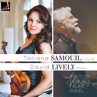 Clair de lune/sonates pour violon et piano