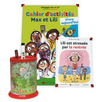Max et LiliPack rentrée 2 titres Max et Lily n° 97 + cahier d'activité n°2 +pot à crayons