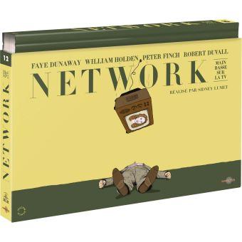 Network : Main basse sur la télévision Coffret Ultra Collector N°12 Bu-ray + DVD + Livre