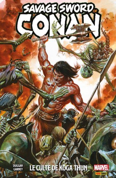 Savage sword of Conan T01 - Le culte de Koga Thun - 9782809484090 - 12,99 €