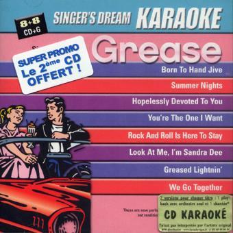 Play-Back Karaoké Grease & Best of Broadway Coffret