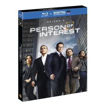 Person of InterestPerson of interest Saison 4 Blu-ray