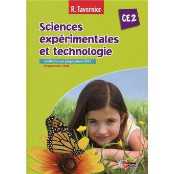 Sciences experimentales et technologie CE2