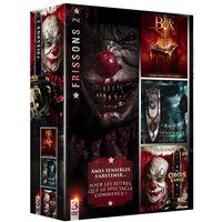 Coffret Frissons numéro 2 3 films DVD