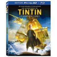 Les Aventures de Tintin : Le Secret de la Licorne - Blu-Ray 3D active + Blu-Ray