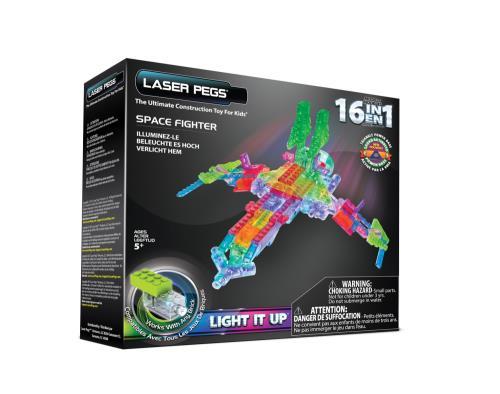 102 Laser 16 En Space Fighter Pegs Pièces 1 QrChsxtd