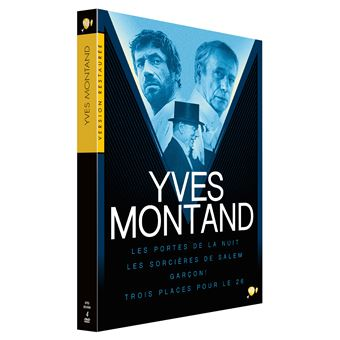 Coffret Yves Montand 4 Films Edition Spéciale Fnac DVD