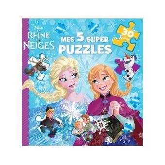 la reine des neigesla reine des neiges mon livre puzzle - Reine Ds Neiges