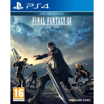 final fantasy xv day one edition ps4 sur playstation 4 jeux vid o achat prix fnac. Black Bedroom Furniture Sets. Home Design Ideas