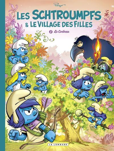 Les Schtroumpfs et le village des filles - tome 3 - Le Corbeau - 9782803678839 - 5,99 €