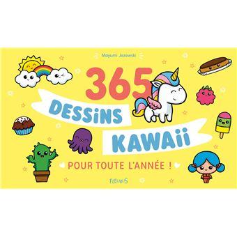 365 Dessins Kawaii Pour Toute Lannée Cartonné Mayumi Jezewski