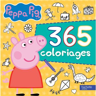 Peppa Pig Avec 365 Coloriages Peppa Pig 365 Coloriages Collectif Broche Achat Livre Fnac