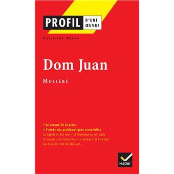 Profil - Molière : Dom Juan