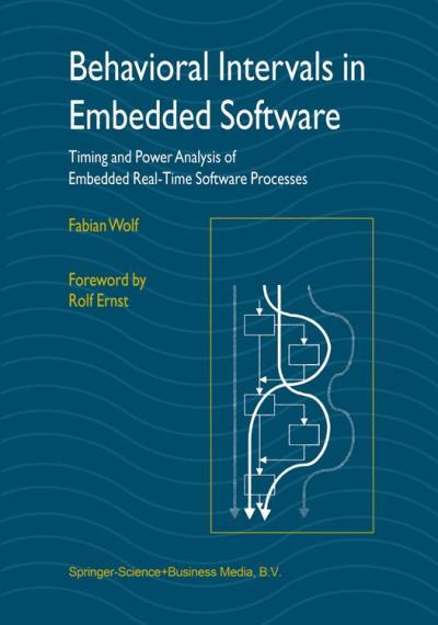 Behavioral intervals in embedded software