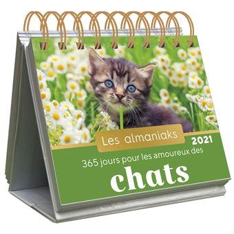 Almaniak 365 jours pour les amoureux des chats 2021   broché