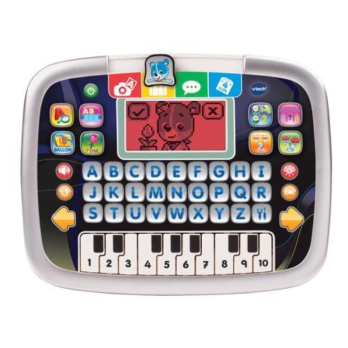 La première tablette des petits pour faire le plein de découvertes ! La Tablette P´tit Genius Kid est une tablette éducative spécialement conçue pour les tout-petits ! Elle permet de découvrir les lettres, les mots, les nombres et le calcul au cours de 8
