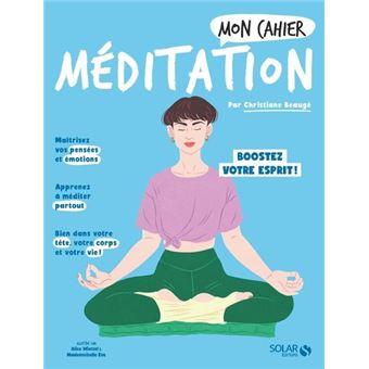 Mon cahier Méditation new