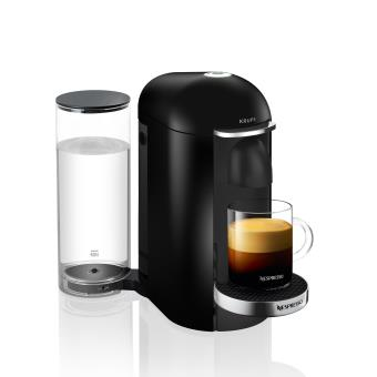 50 sur machine capsules nespresso vertuo krups noir caf expresso grande tasse et mug. Black Bedroom Furniture Sets. Home Design Ideas