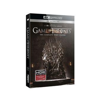 Game Of Thrones, Le trône de ferGame of Thrones Saison 1 Blu-ray 4K Ultra HD