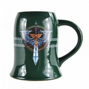 WARHAMMER-TANKARD MUG-500ML-DARK ANGELS