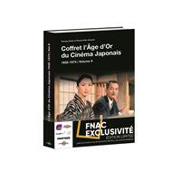Age d or du cinema japonais volume 2/coffret fnac
