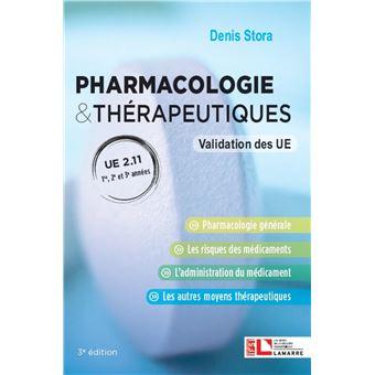 Pharmacologie et therapeutiques