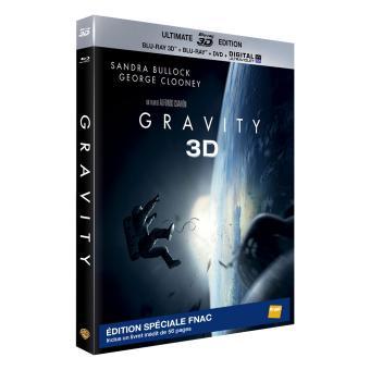 Gravity - 2 Disc Bluray