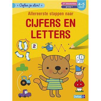 Oefen je slim!Oefen je slim! Allereerste stappen naar cijfers en letters (4-5 j.)
