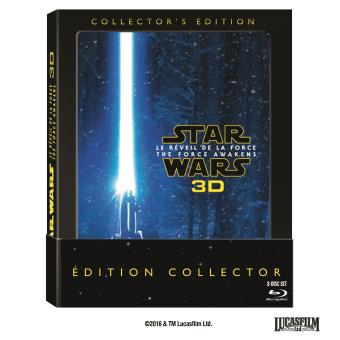 Star WarsStar Wars Le réveil de la Force Edition Collector Blu-Ray 3D + 2 Blu-Ray