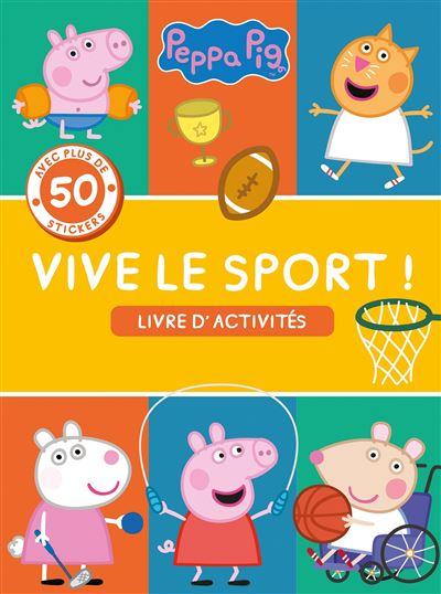 Peppa Pig-Peppa - Vive le sport - Activités et stickers