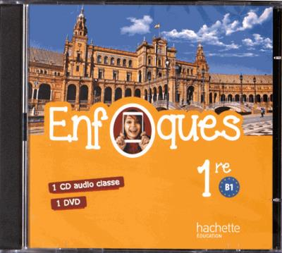ENFOQUES - Espagnol 1re toutes séries - CD Audio - Éd. 2016