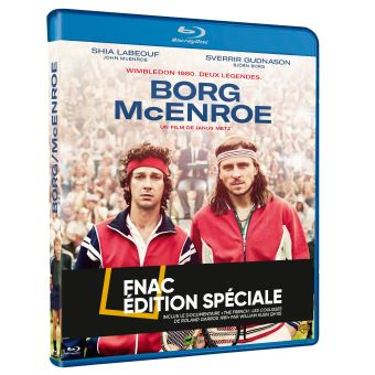 Borg McEnroe Edition Spéciale Fnac Blu-ray