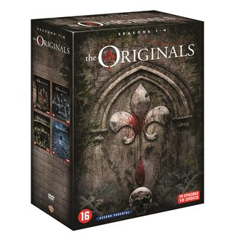 The OriginalsThe Originals Saisons 1 à 4 Coffret DVD