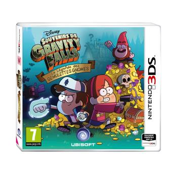gravity falls 3ds jeux vid o achat prix fnac. Black Bedroom Furniture Sets. Home Design Ideas