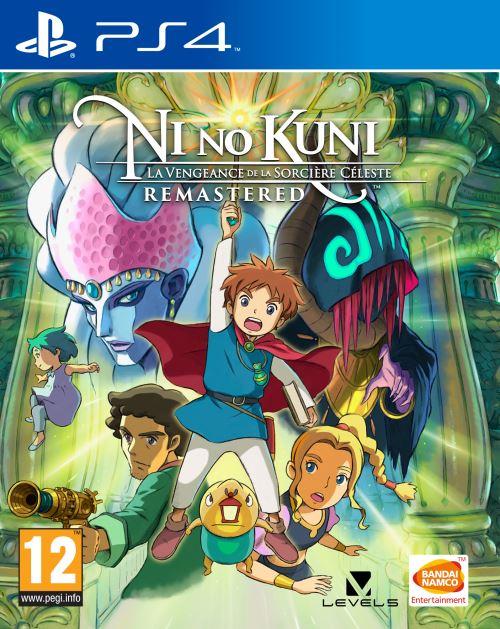 Ni No Kuni : La Vengeance de la Sorcière Céleste Remastered PS4