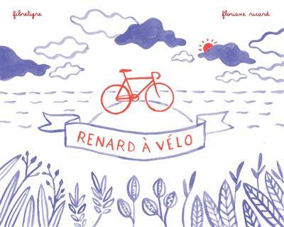 Renard à vélo