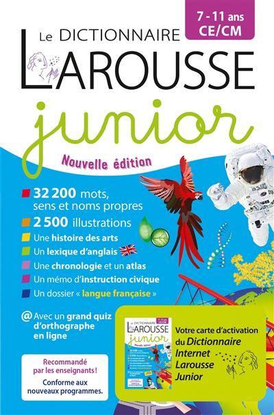 Dictionnaire Junior 7/11 ans bimédia